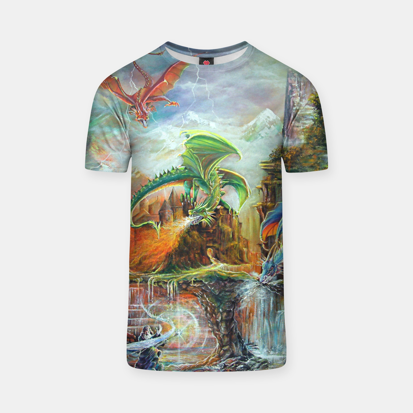 Image of An Al Nathrach T-shirt - Live Heroes
