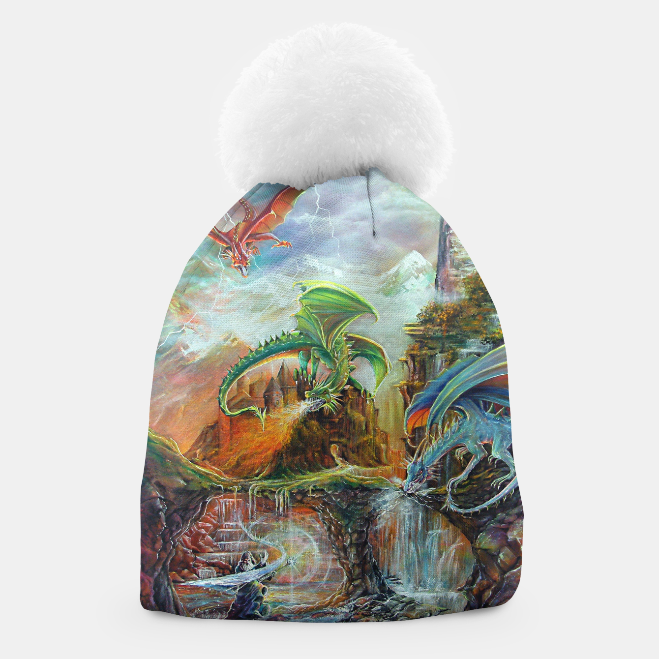 Image of An Al Nathrach Beanie - Live Heroes
