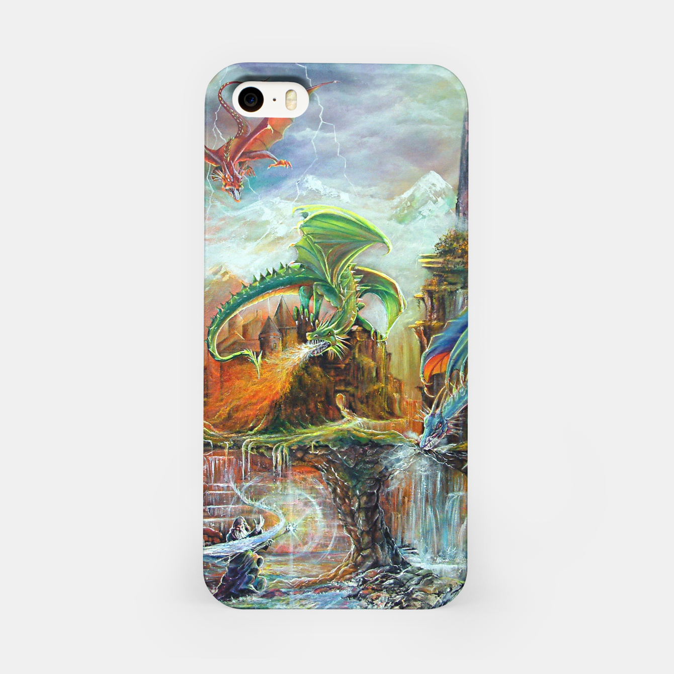 Image of An Al Nathrach iPhone Case - Live Heroes