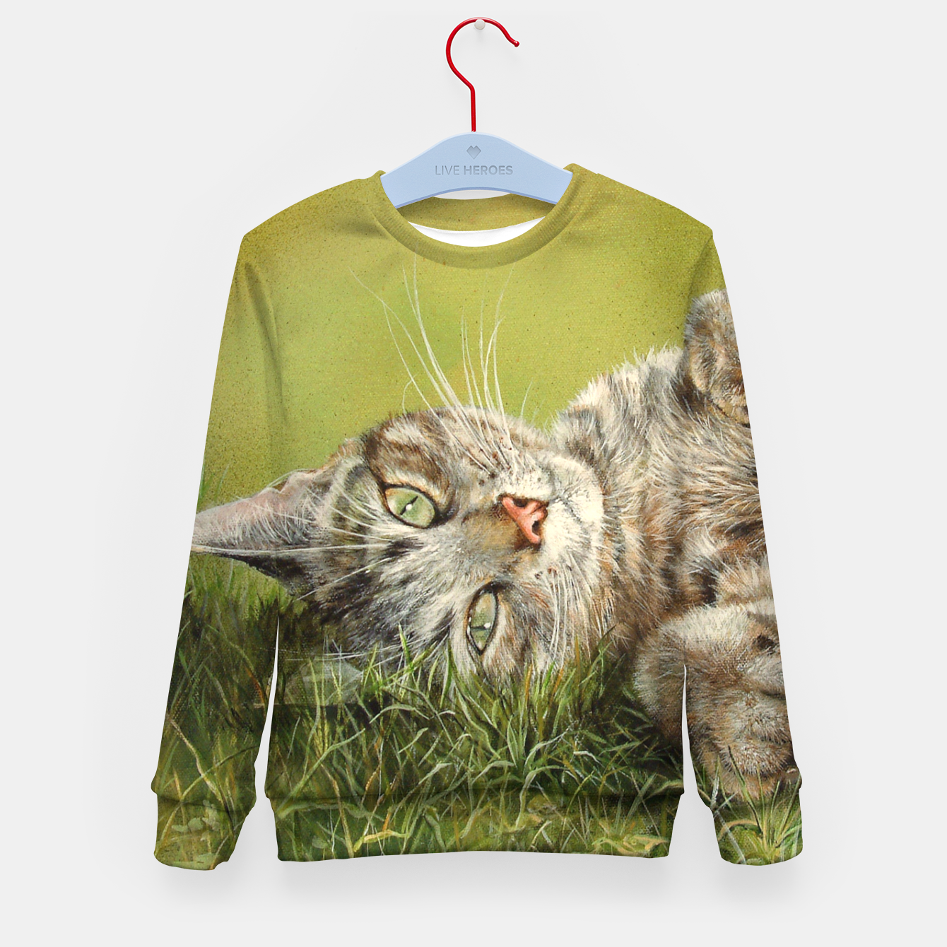 Image of Oscar Kid's sweater - Live Heroes
