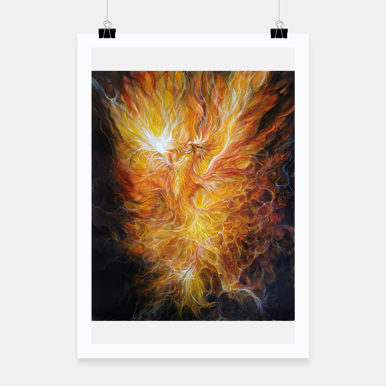 Image of The Phoenix Poster - Live Heroes