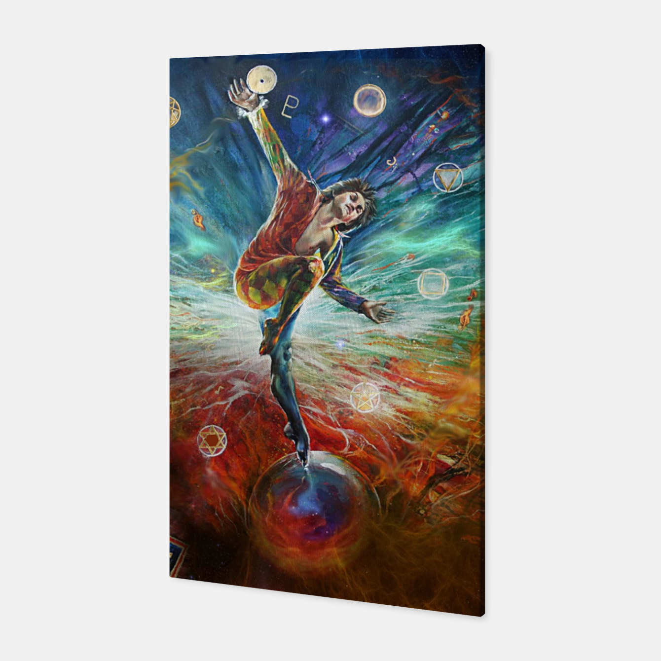 Image of The Fool Canvas - Live Heroes