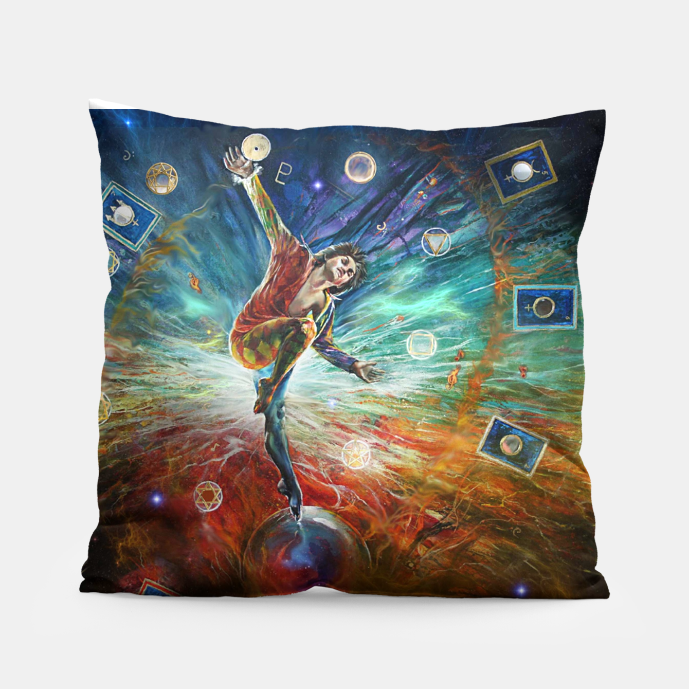 Image of The Fool Pillow - Live Heroes