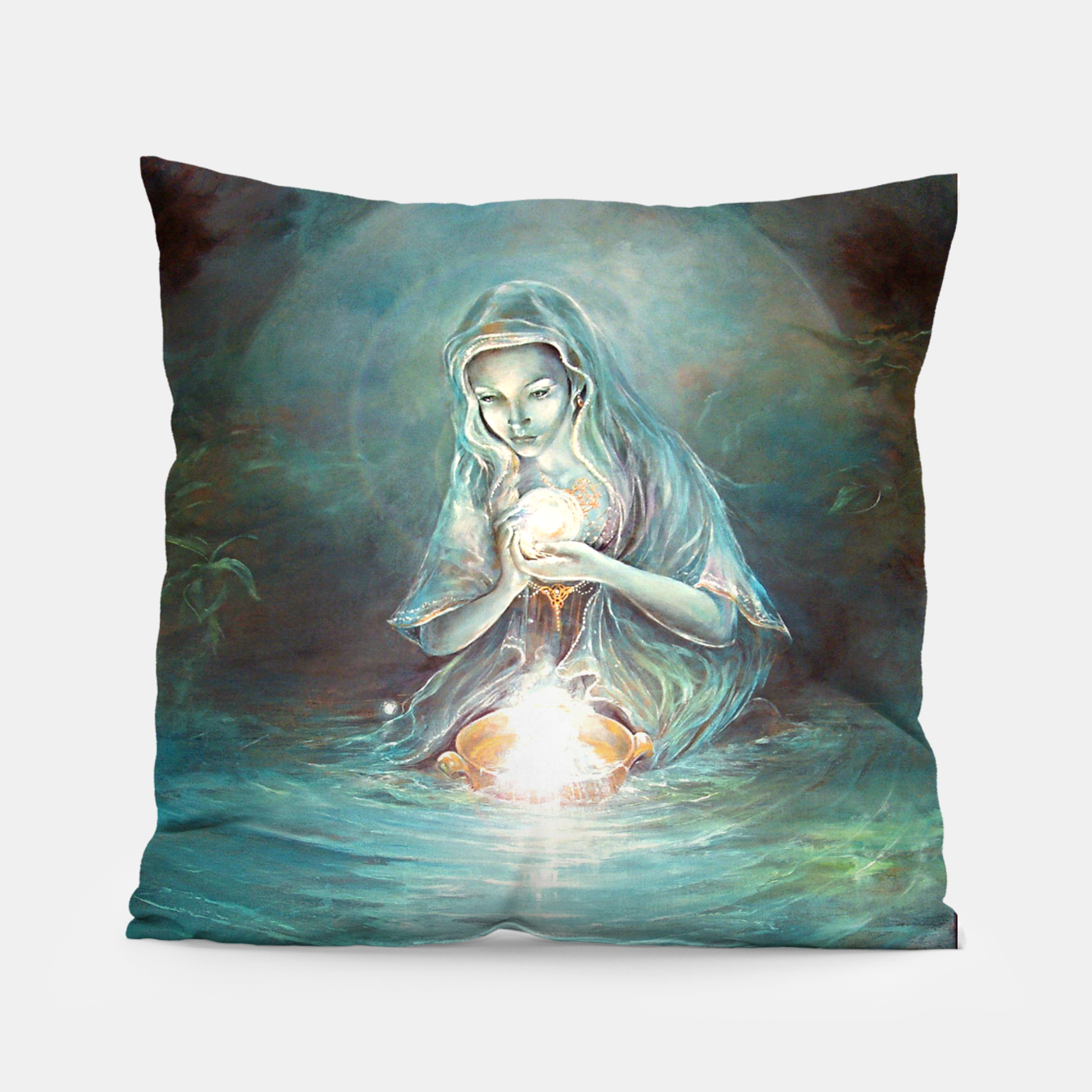 Image of Deliverance Pillow - Live Heroes