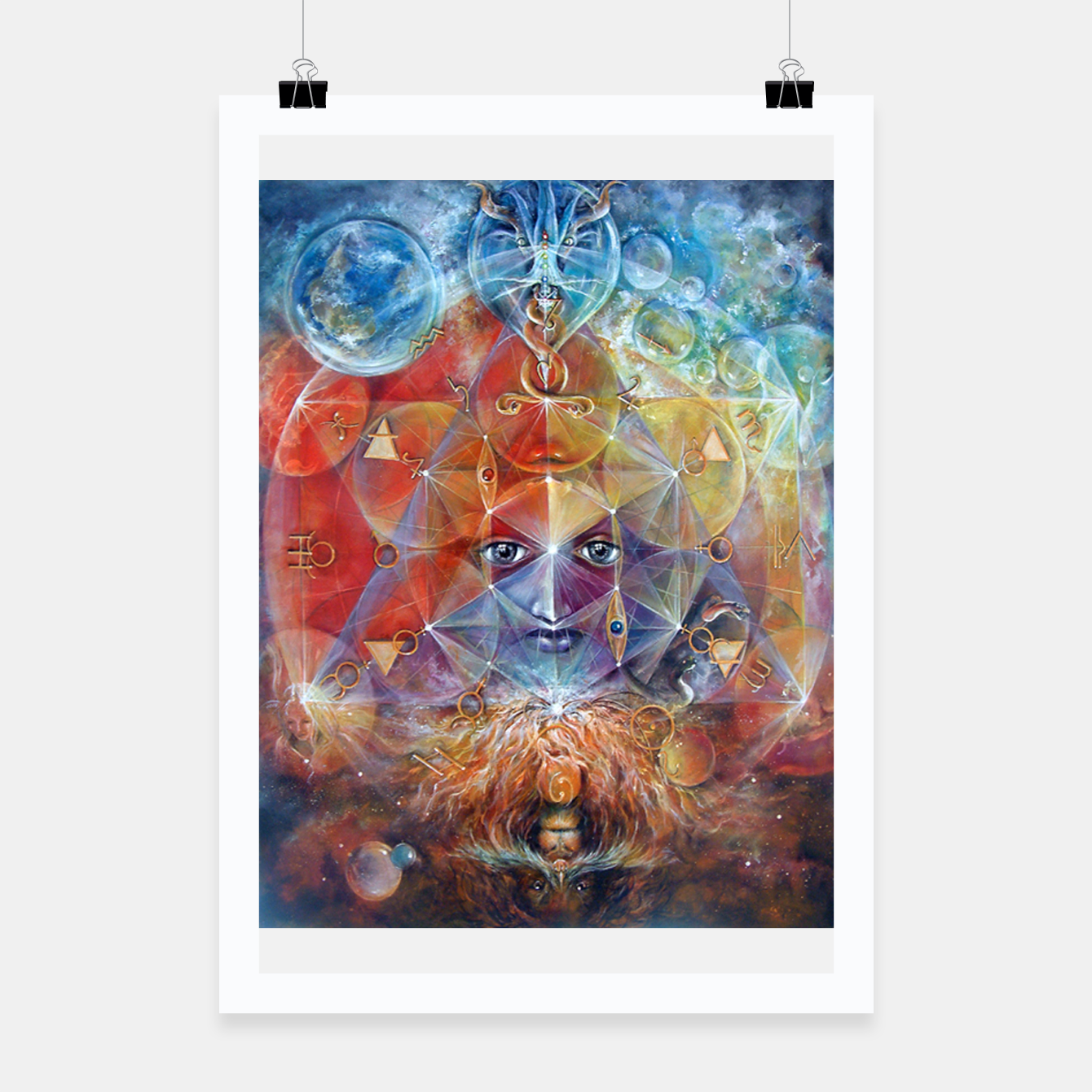 Image of Duality Poster - Live Heroes
