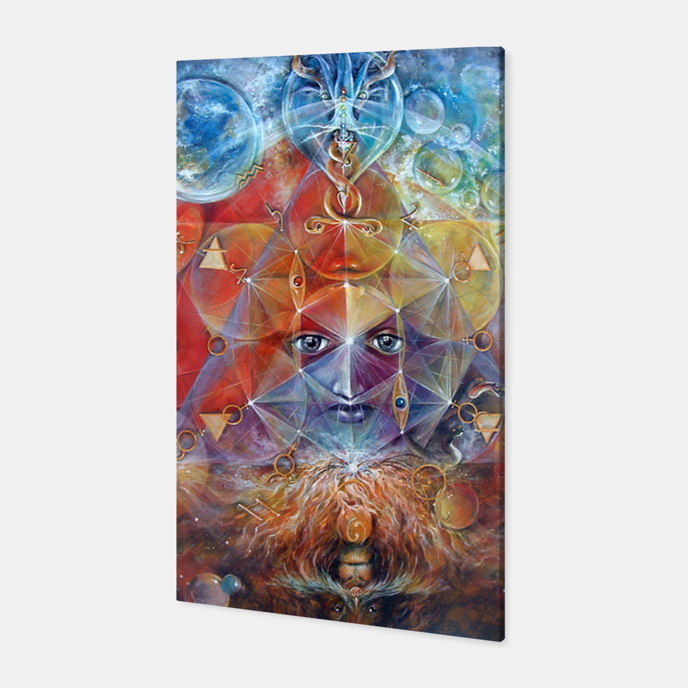 Image of Duality Canvas - Live Heroes