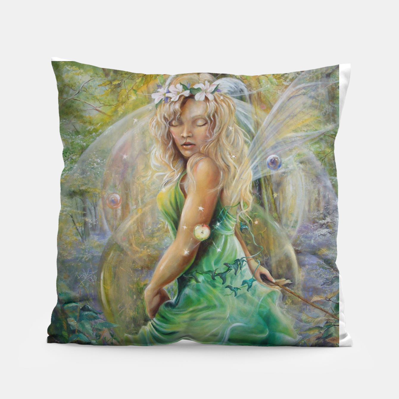 Image of Golden Dawn Pillow - Live Heroes
