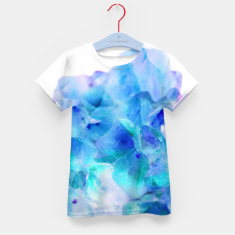 Iridescent Quartz Crystal #2 #gem #decor #art  T-Shirt für kinder thumbnail image