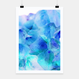 Iridescent Quartz Crystal #2 #gem #decor #art  Plakat thumbnail image