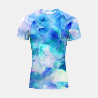 Iridescent Quartz Crystal #2 #gem #decor #art  Shortsleeve rashguard thumbnail image