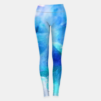 Iridescent Quartz Crystal #2 #gem #decor #art  Leggings thumbnail image