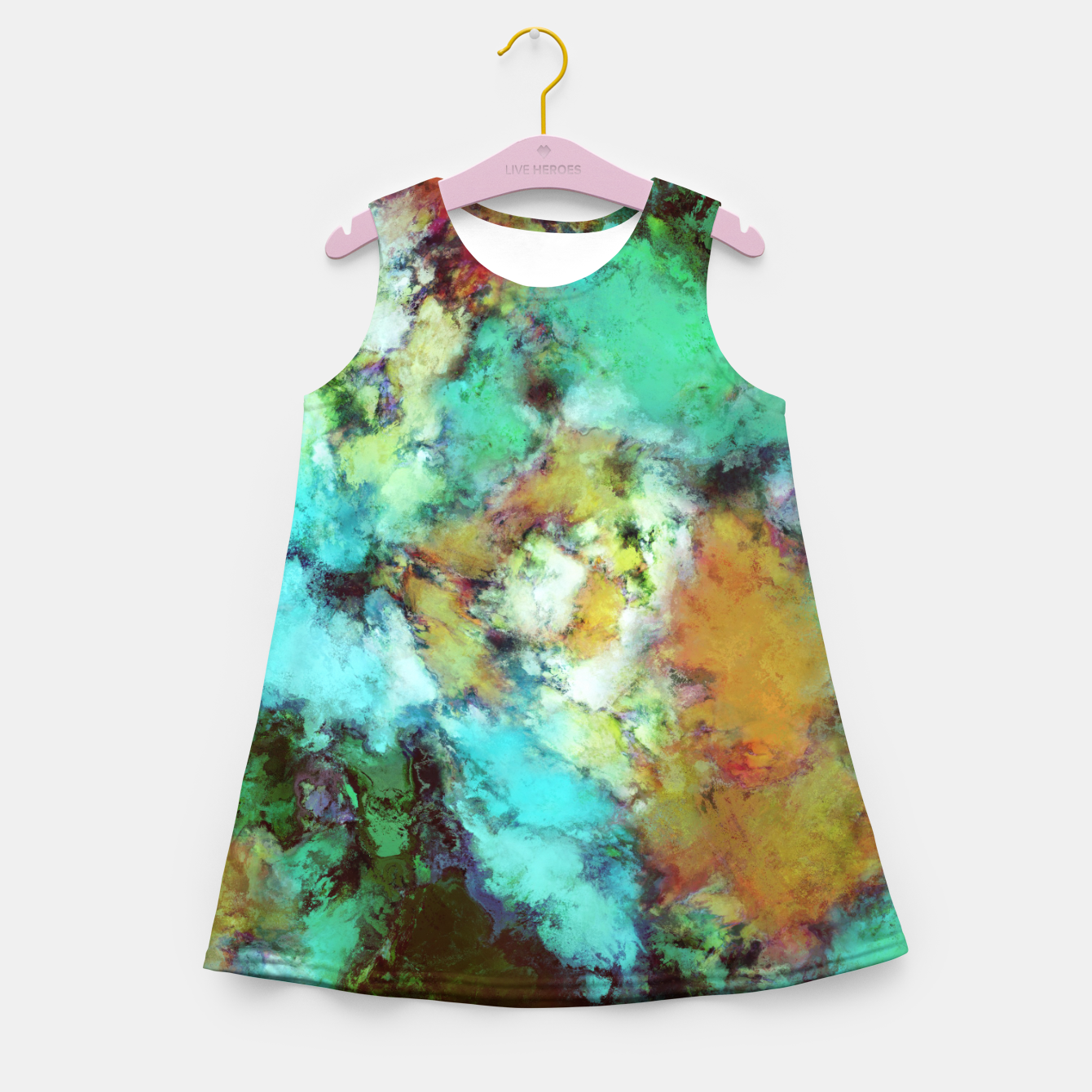 Image of Regeneration Girl's summer dress - Live Heroes