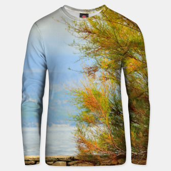 Close to the sea Unisex sweater thumbnail image