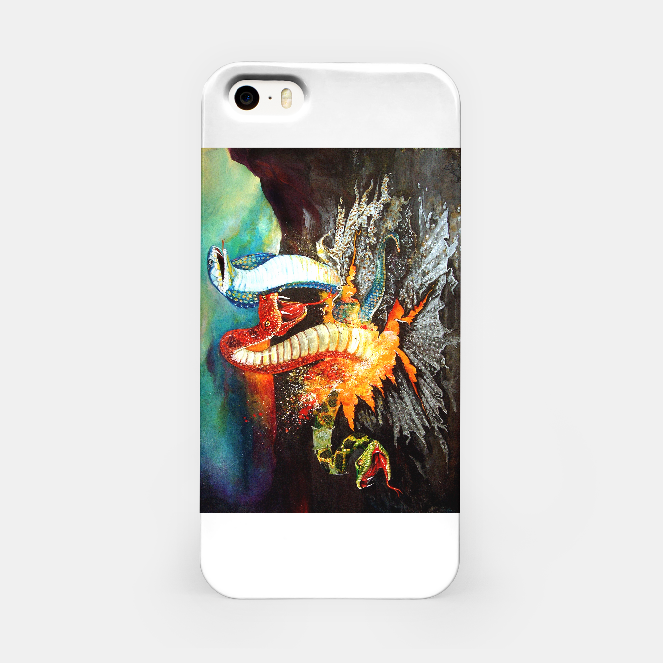 Image of Once Bitten iPhone Case - Live Heroes