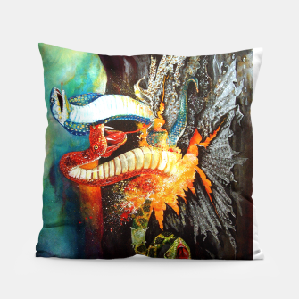 Thumbnail image of Once Bitten Pillow, Live Heroes