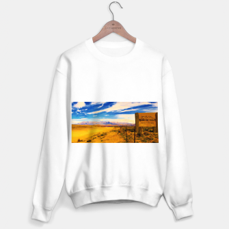 hurricane valley digital oil painting akvop std Sweater regular thumbnail image