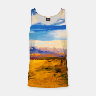 hurricane valley digital oil painting akvop std Tank Top thumbnail image