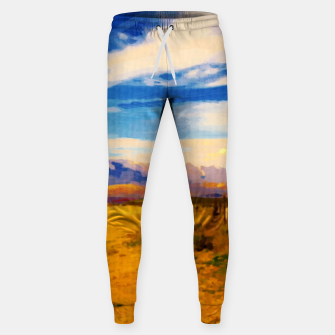 hurricane valley digital oil painting akvop std Sweatpants thumbnail image