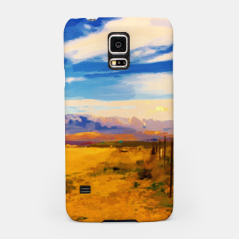 hurricane valley digital oil painting akvop std Samsung Case thumbnail image