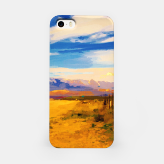 hurricane valley digital oil painting akvop std iPhone Case thumbnail image