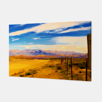 hurricane valley digital oil painting akvop std Canvas thumbnail image