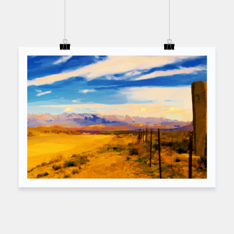 hurricane valley digital oil painting akvop std Poster thumbnail image