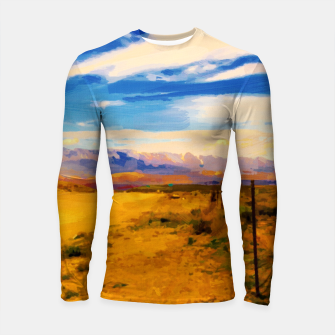 hurricane valley digital oil painting akvop std Longsleeve rashguard  thumbnail image