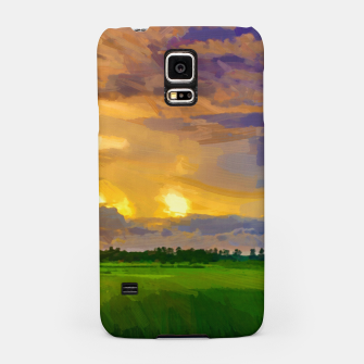 hurricane storm landscape digital oil painting akvop std Samsung Case thumbnail image
