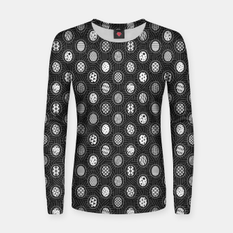 Monochrome Easter Geometry Women sweater thumbnail image