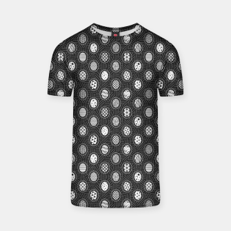 Thumbnail image of Monochrome Easter Geometry T-shirt, Live Heroes