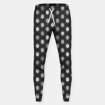 Monochrome Easter Geometry Sweatpants thumbnail image