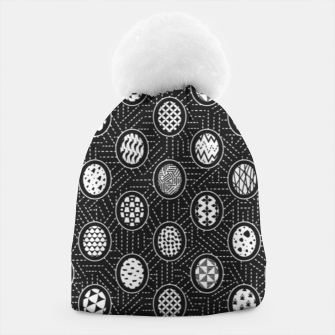 Monochrome Easter Geometry Beanie thumbnail image