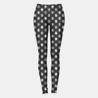 Monochrome Easter Geometry Leggings thumbnail image