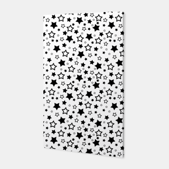 Miniatur Star Pattern Canvas, Live Heroes