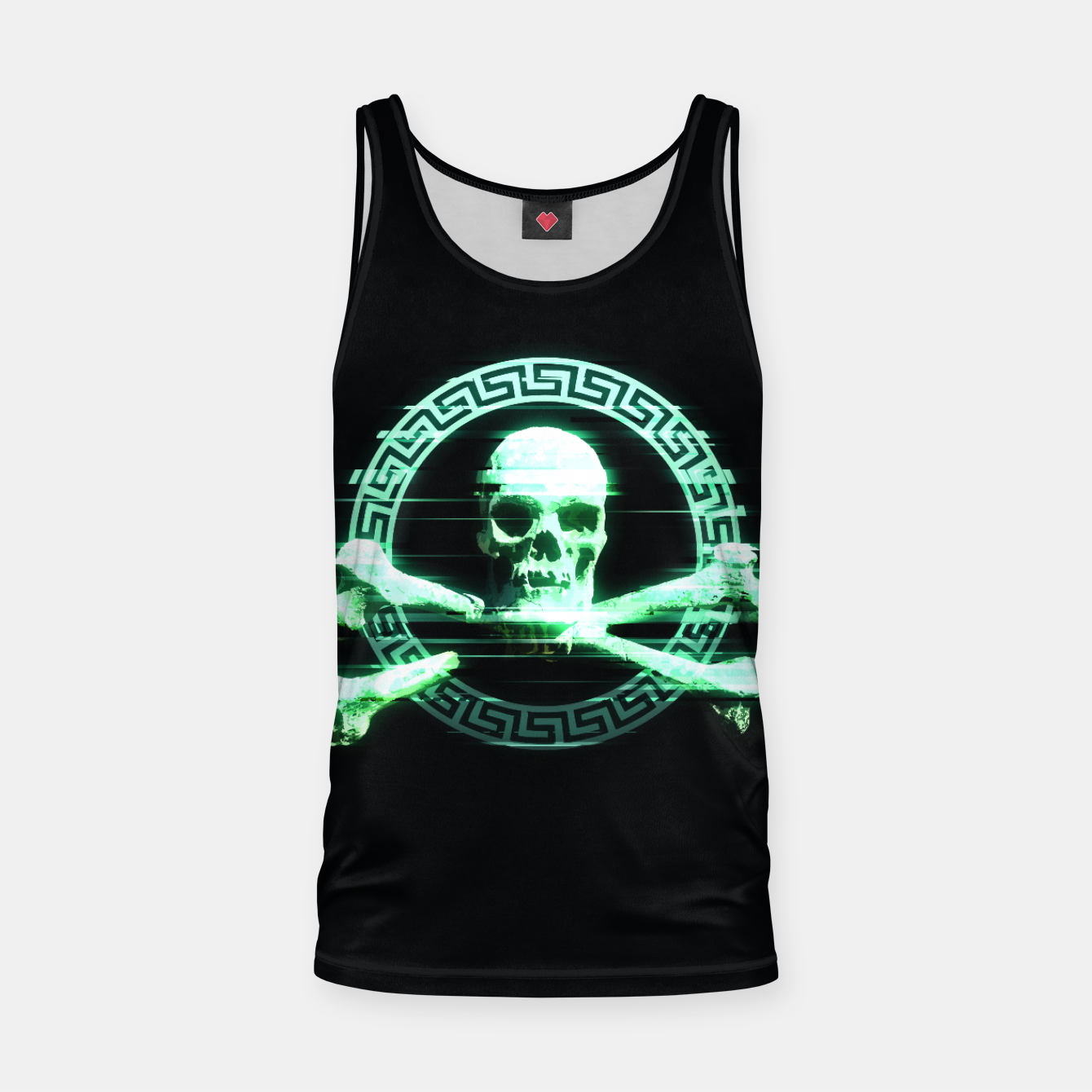 Image of T O X I C Tank Top - Live Heroes