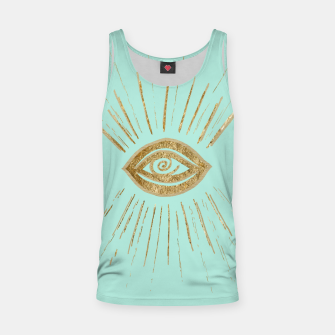 Evil Eye Gold on Mint #1 #drawing #decor #art  Muskelshirt  thumbnail image