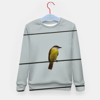 Great kiskadee Kid's sweater thumbnail image