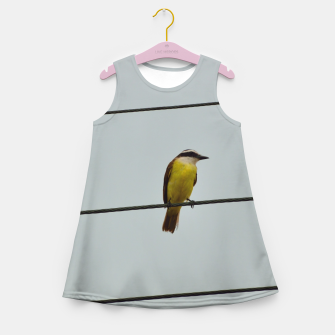 Great kiskadee Girl's summer dress thumbnail image