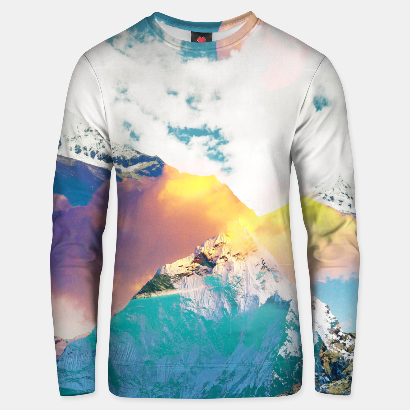 Image of Dreaming Mountains Unisex sweater - Live Heroes