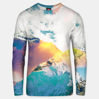 Dreaming Mountains Unisex sweater thumbnail image