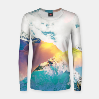 Dreaming Mountains Women sweater thumbnail image