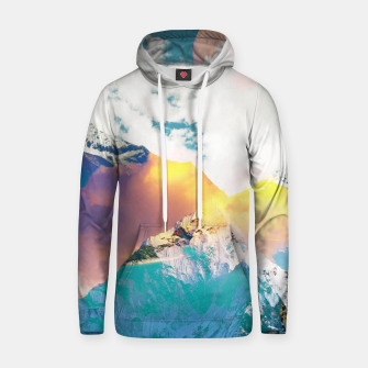 Thumbnail image of Dreaming Mountains Hoodie, Live Heroes