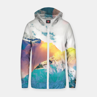 Dreaming Mountains Zip up hoodie thumbnail image
