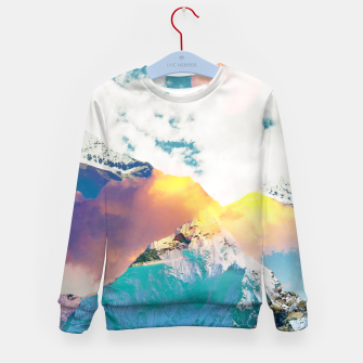 Dreaming Mountains Kid's sweater thumbnail image