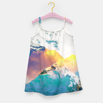 Dreaming Mountains Girl's dress thumbnail image