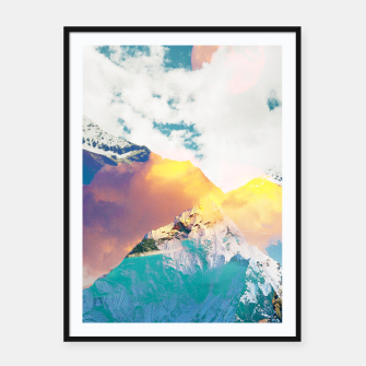 Dreaming Mountains Framed poster thumbnail image