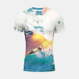 Dreaming Mountains Shortsleeve rashguard thumbnail image