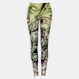 Gheisha Mix Leggings Bild der Miniatur