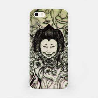 Miniatur Gheisha Mix iPhone Case, Live Heroes