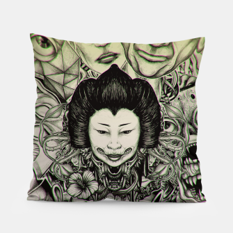 Miniatur Gheisha Mix Pillow, Live Heroes